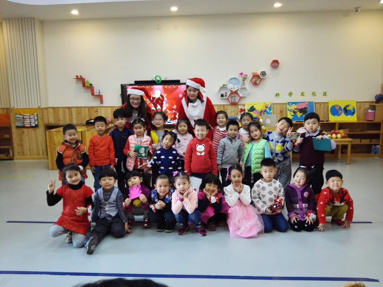 王府圣诞号列车温情启动 ——北京王府幼儿园圣诞节活动