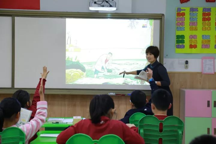 Great Classes to Promote Teachers' Growth – The Open Class of Chinese Department